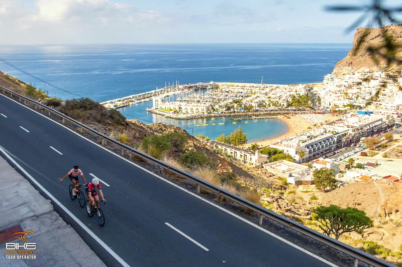Clima e strade perfette a Gran Canaria per i ciclisti