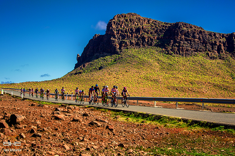 perfect road in Gran Canaria for cyclists