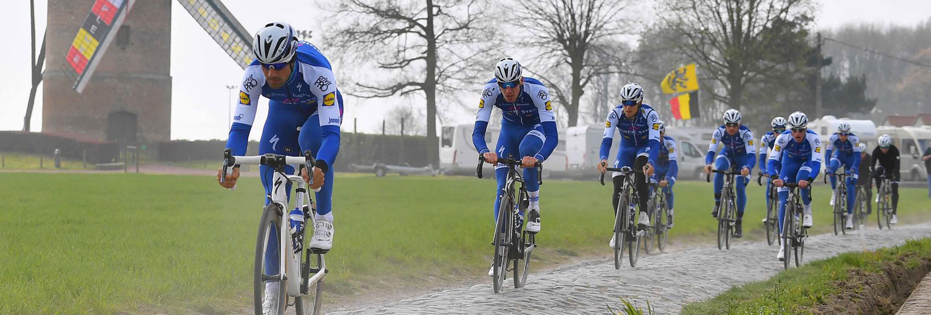 PARIGI ROUBAIX 2019 CON QUICK-STEP FLOORS - BIKE DIVISION VIP PRO EXPERIENCE - foto copyright TdwSport.com /