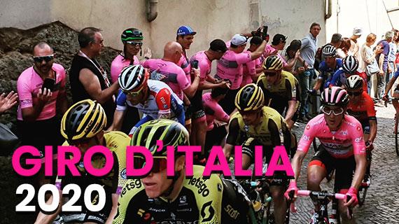 Giro d'Italia 2020 : Le tappe DI MONTAGNA