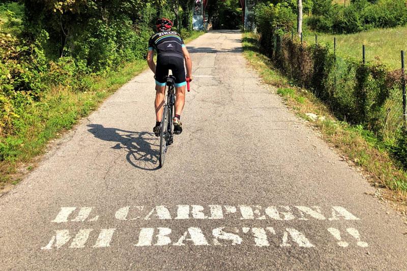 Salita Pantani Cippo Carpegna