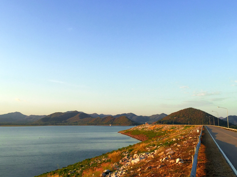 Pranburi Dam - Bike Division Thailand Cycling Tour